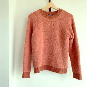 Sherpa textured sweater